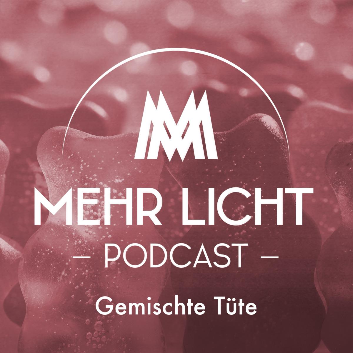 Logo zur fünften Ausgabe des Mehr Licht Podcasts